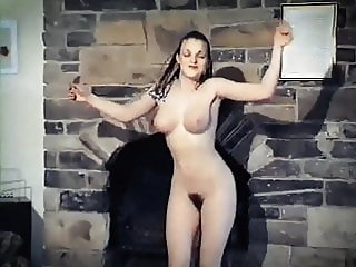 SELF CONTROL - vintage British beauty strip dance tease