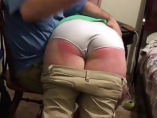 Punishment spanking