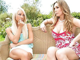 VODEU - Caught Smoking - Tanya Tate, Katerina Kay