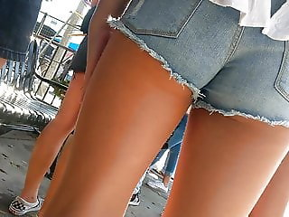 teen in shorts 69