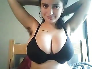 hairy emo girl with tattoos and firm natural tits