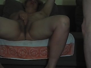 Pussy eating and masturbating