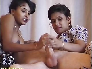 real amateur indian threesome orgy