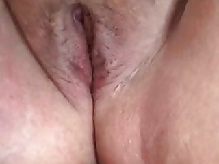 Close up bbw pussy play