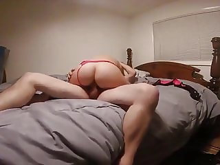 Swedish Babe with Big Ass Riding Cock on Hidden Cam