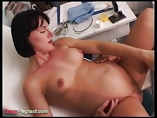 preggo wife extreme rough banged
