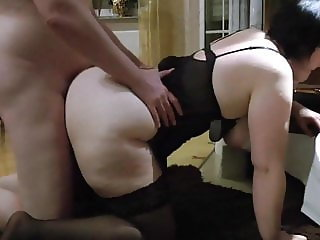 Big ass mature fucked doggystyle