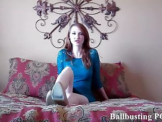 I will give you a brutal ballbusting