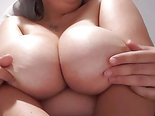 Massage on Perfect Boobs, gorgeous Amazing hot french slut