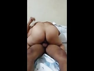Indian Housewife riding dick