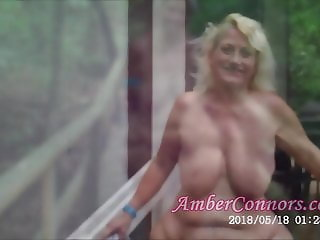 Nudist Camp Granny Squirting and Pussy Farts