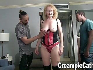 MILF Gets Sloppy Creampies