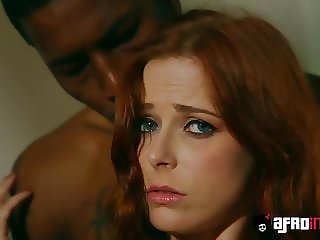 Redhead beauty Penny Pax penetrated by throbbing BBC