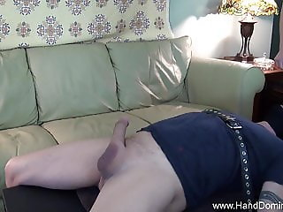 skinny blonde facesitting handjob