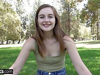 Real Teens - Tiny teen Danni Rivers pov sex session