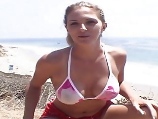 Roxanne Beach Play Then Rimjob and Fuck & Suck