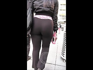 Brunette (BIG BOOTY IN STREET) 9-11-2108