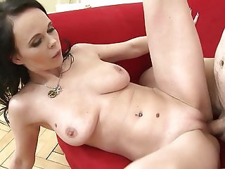 Mature mother gets hard fuck