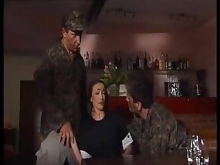 Soldiers Bang Her In The Bar
