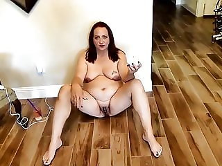 Slut Ann the whore eats cigarette ashes.