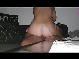 Fat Ass 19 years old Teen Whit Burger Pussy and Anal Queen