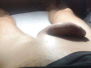 Brazilian Waxing of a Big Cock Part 9 Finally Cream