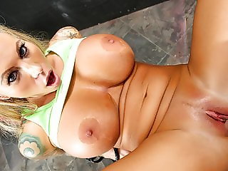 FirstClassPOV - Lolly Ink is punished by a monster cock