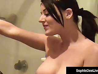 Beautiful Brit Sophie Dee Sex-Toyed by Sindee-Jennings!