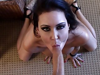 Jessica Jaymes fucking a huge cock in a hotel room big boobs
