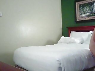 Wife caught changing hotel