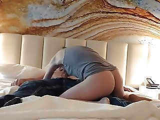 my young horny sister fucked my best friend on my bed