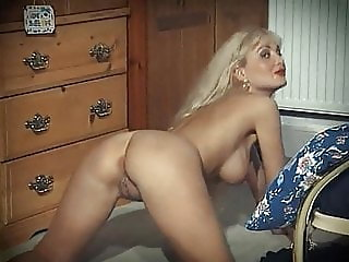 SECRET - vintage blonde strip dance tease