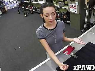 Petite minx Kiley Jay strikes banging deal with pawn broker