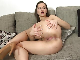 Sexy young mother with perfect body