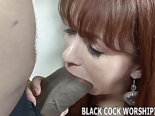 His big black cock is going to fill my ass with cum