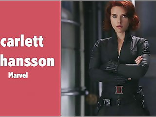 Scarlett Johansson (Black Widow - Marvel) Fap Tribute