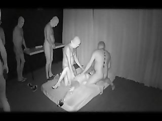 Wife Used in Darkroom by Strangers