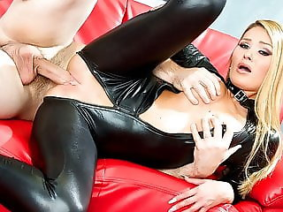 Tiny beauty Abby Cross is punished by a monster cock -Spizoo