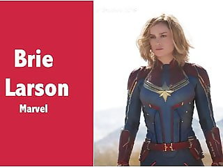 Brie Larson (Captain Marvel - Marvel) Fap Tribute
