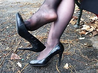 Feet in Nylon - Video 33