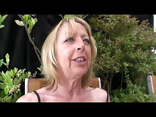 French Granny Anal Outdoor