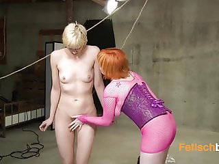 Blonde horny cunt splashes at anal
