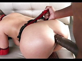 Busty Takes  BBC In Her Juicy Ass
