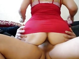Anal with neighbor cum twice in her ass