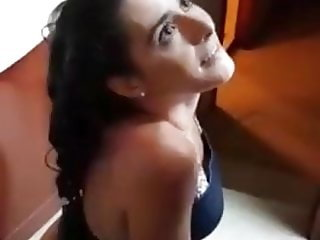 Mixed Party Girl Give A BJ And Tongue Play Fun To A Friend