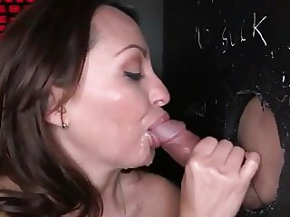 Casting in gloryhole second part