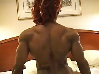 Super Hot Muscular Ebony Wants Rub Your Dick