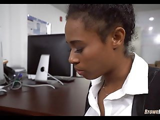 Black Sex at the office