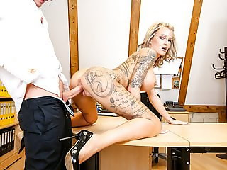 LETSDOEIT - Naughty OFFICE Sex with Busty German Secretary