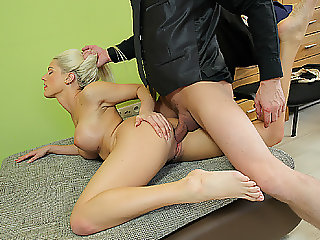 LOAN4K. Greta loan porn of bewitching Blanche and tricky...